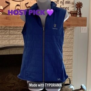 🎁BRAND NEW💜 UNDER ARMOUR Quilted Logo Vest